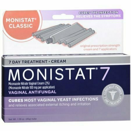 MONISTAT 7 Cream Disposable Applicators 7 Each - usaotc.com