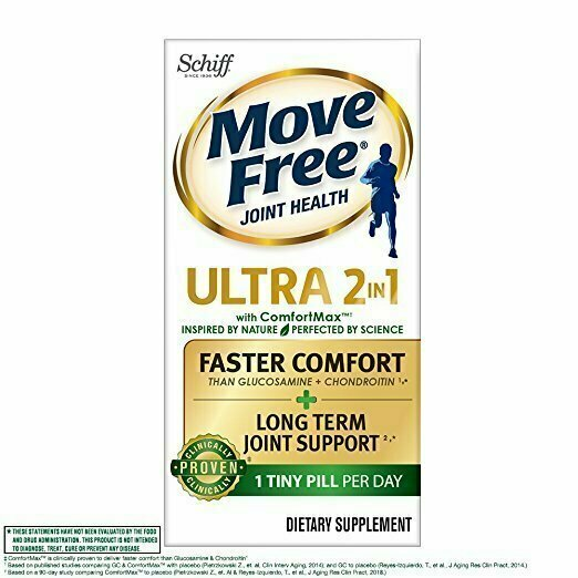 Move Free Ultra 2 in 1 with Comfort Max, Clinically Proven Joint Support 30 each - usaotc.com
