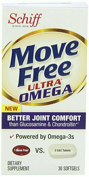 Move Free Ultra Omega, 30 softgels - Joint Health Supplement with Omega-3 Krill Oil and Hyaluronic Acid - usaotc.com