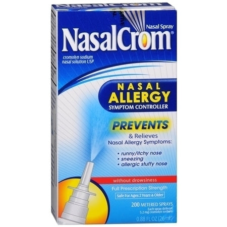 NasalCrom Allergy Relief Nasal Spray, .88 oz - usaotc.com