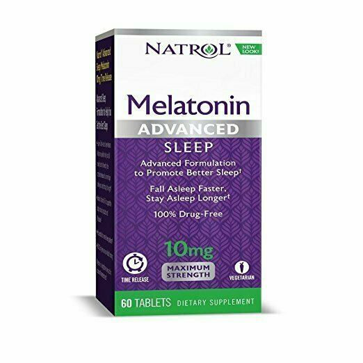 Natrol Advanced Sleep Melatonin Tablets, 10mg, 60 Count - usaotc.com