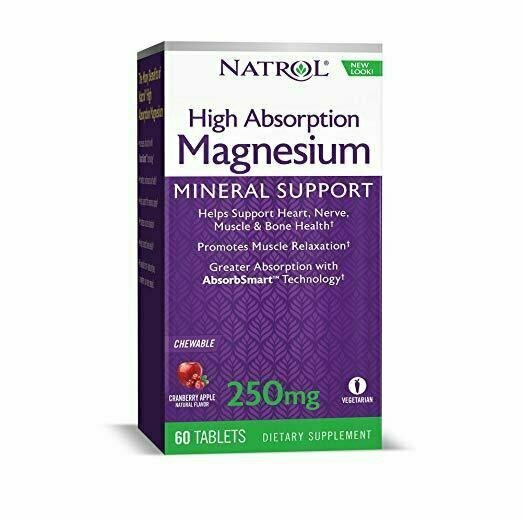 Natrol High Absorption Magnesium Chew Tablets, 60 Count - usaotc.com