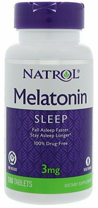 Natrol Melatonin Time Release, 3 mg, 100 Tablets - usaotc.com