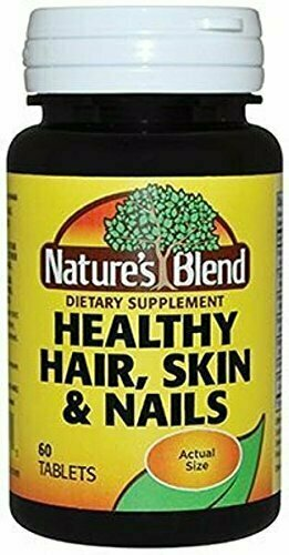 Nature`s Blend Healthy Hair, Skin & Nails Tablets 60 ct - usaotc.com