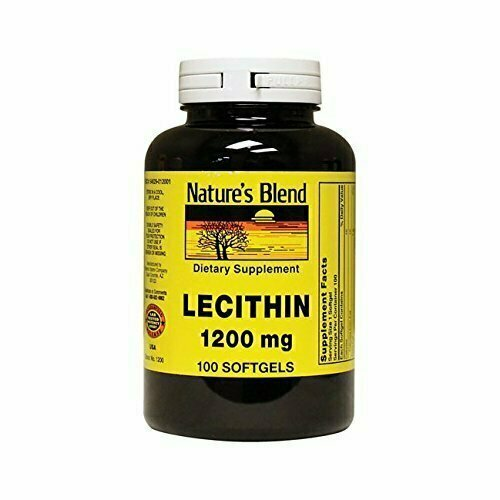 Nature's Blend Lecithin 1,200 mg 100 Softgels - usaotc.com