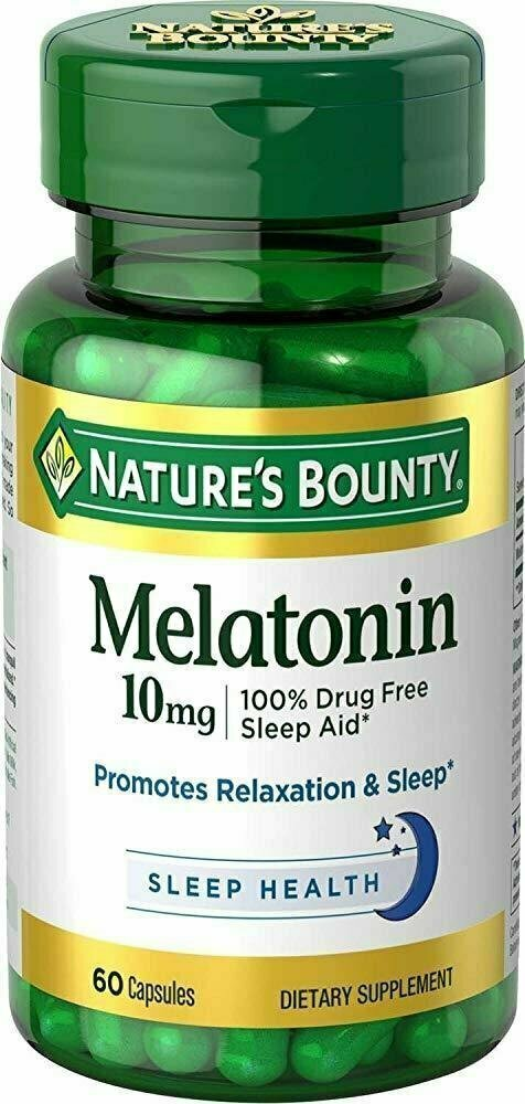 Nature's Bounty Melatonin 10 mg - usaotc.com