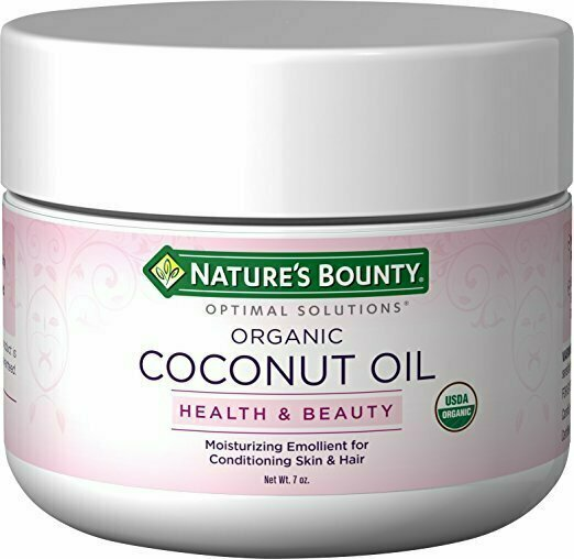 Nature's Bounty Optimal Solutions Coconut Oil, 7oz - usaotc.com