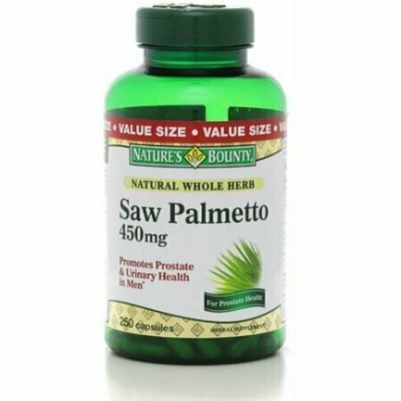 Nature's Bounty Saw Palmetto 450 mg Capsules 250 each - usaotc.com