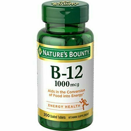Nature's Bounty Vitamin B-12 1000 mcg, 200 Tablets Each - usaotc.com