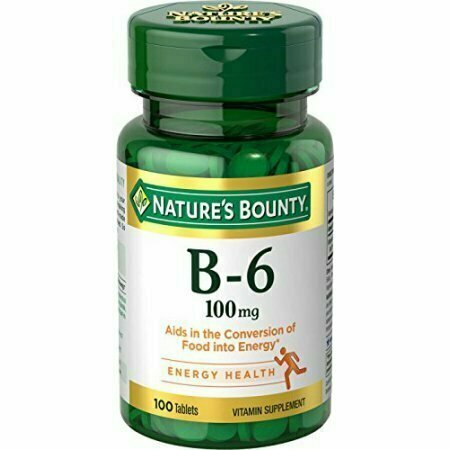 Nature's Bounty Vitamin B-6 100 mg Tablets 100 Tablets Each - usaotc.com