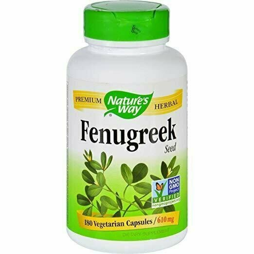 Nature's Way Fenugreek Seed 610 mg, 720 Capsules - usaotc.com
