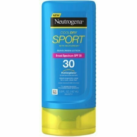 Neutrogena CoolDry Sport Sunscreen Lotion, SPF 30 5 oz - usaotc.com
