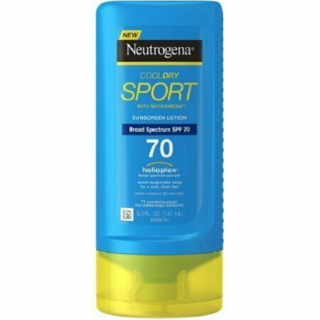 Neutrogena CoolDry Sport Sunscreen Lotion, SPF 70 5 oz - usaotc.com