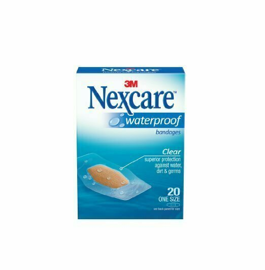 NEXCARE WATERPROOF ONE SIZE 20CT - usaotc.com