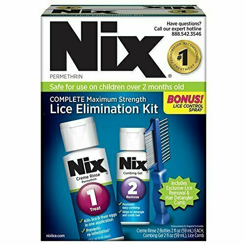 NIX COMPLETE LICE ELIMINATION KIT - usaotc.com