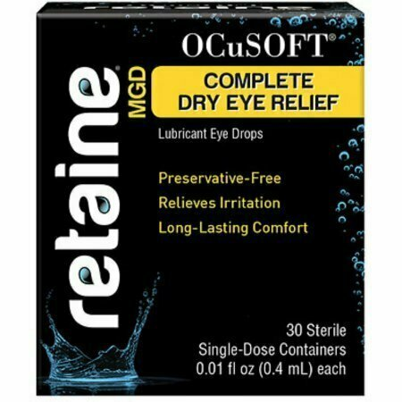 OCuSOFT Retaine MGD Ophthalmic Emulsion Sterile Single-Dose Container 30 Pack - usaotc.com