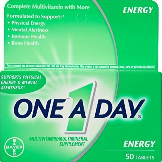 One-A-Day Energy Multivitamin, 50-Count - usaotc.com