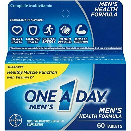 One A Day Men's Health Formula Multivitamin, 60 Count - usaotc.com