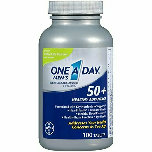 One-A-Day Men's Pro Edge Multivitamin, 50-tablet Bottle - usaotc.com