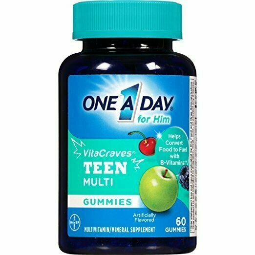 One A Day Vitacraves Teen for Him, 60 Count - usaotc.com