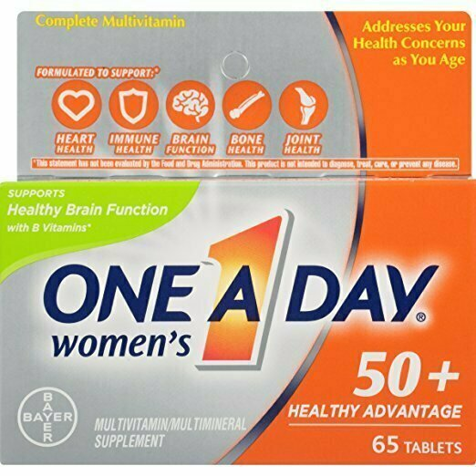 One A Day Women's 50+ Healthy Advantage Multivitamin, 65 Count - usaotc.com