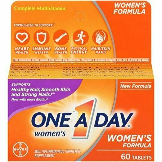 One A Day Women's Multivitamin, 60 Count - usaotc.com