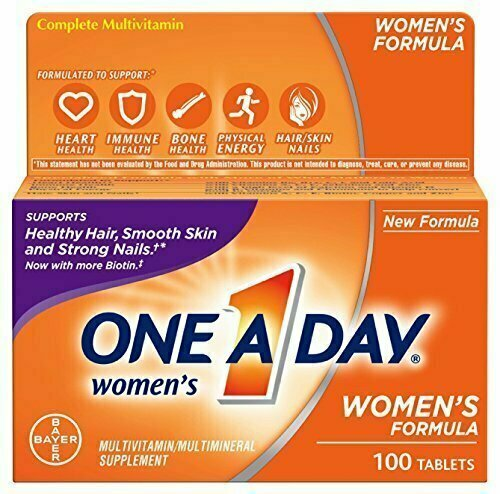 One-A-Day Women's Multivitamin Tablets, 100 Count - usaotc.com