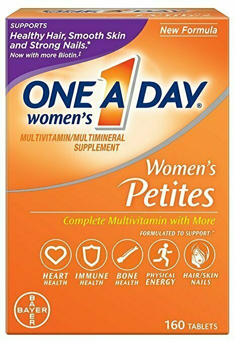 One A Day Women's Petite Multivitamins, 160 Count - usaotc.com