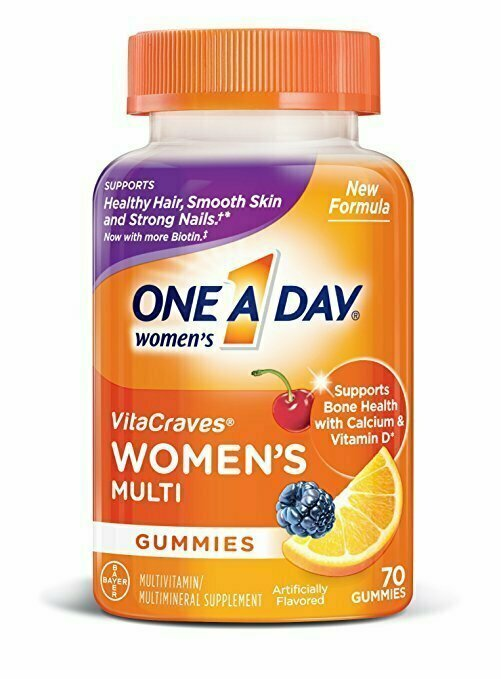 One A Day Women's VitaCraves Multivitamin Gummies, 70 Count - usaotc.com
