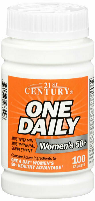 ONE DAILY WOMEN 50+ MULTI TAB 100CT - usaotc.com
