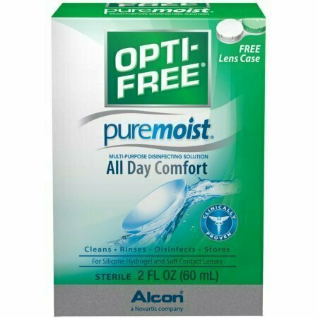 OPTI-FREE Pure Moist Multi-Purpose Disinfecting Solution 2 oz - usaotc.com