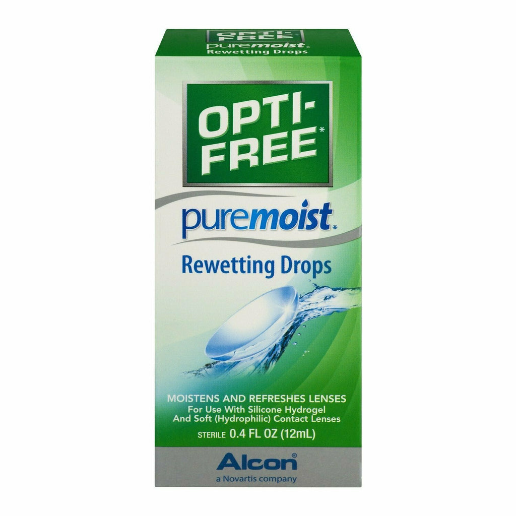 OPTI-FREE Pure Moist Rewetting Drops 12 mL - usaotc.com