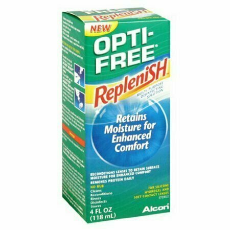 OPTI-FREE RepleniSH Multi-Purpose Disinfecting Solution 4 oz - usaotc.com