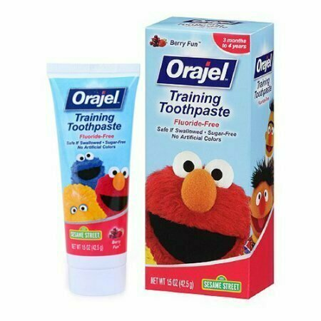 Orajel Toddler Training Toothpaste, Fruit Splash - 1.5 Oz - usaotc.com