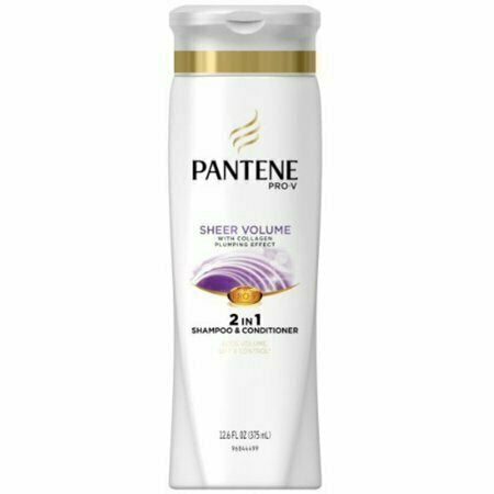 Pantene Pro-V Fine Hair Sheer Volume 2-in-1 Shampoo & Conditioner 12.60 oz - usaotc.com
