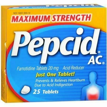 Pepcid AC Tablets Maximum Strength 25 Tablets - usaotc.com