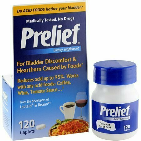 Prelief Acid Reducer Dietary Supplement 120 Caplets - usaotc.com