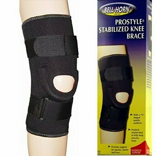 ProStyle Stabilized Knee Brace in Black Size: Large - usaotc.com