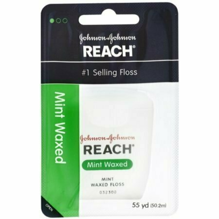 REACH Mint Waxed Floss 55 Yards - usaotc.com