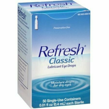 REFRESH Classic Lubricant Eye Drops Single-Use Containers 50 Each - usaotc.com