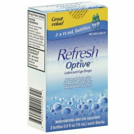 REFRESH OPTIVE Lubricant Eye Drops (2 x 15 ml) - usaotc.com