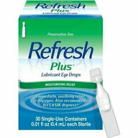 REFRESH PLUS Lubricant Eye Drops Single-Use Containers 30 Each - usaotc.com