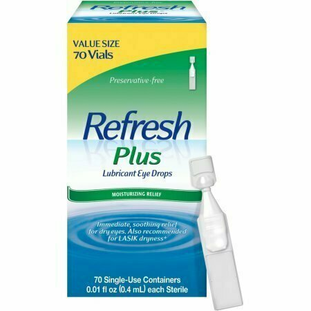 REFRESH PLUS Lubricant Eye Drops Single-Use Containers 70 Each - usaotc.com
