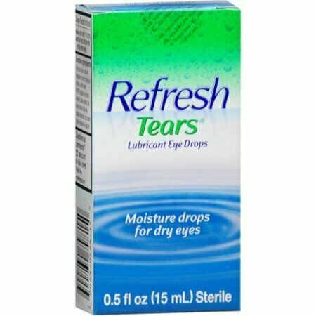 REFRESH TEARS Lubricant Eye Drops 0.50 oz - usaotc.com