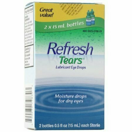 REFRESH TEARS Lubricant Eye Drops 15 ml (2 pack) - usaotc.com