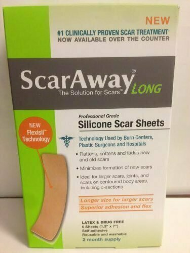 SCARAWAY FLEX LONG SILICONE SHEETS 6 CT - usaotc.com