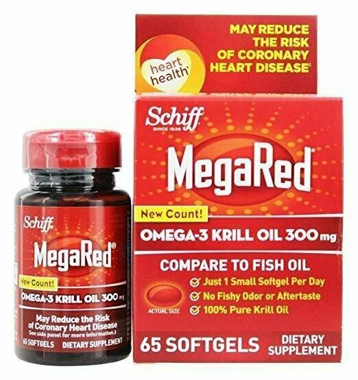 Schiff Bio Foods Mega Red 65 Softgels - usaotc.com