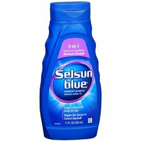 Selsun Blue 2-In-1 Maximum Strength Dandruff Shampoo 11 oz - usaotc.com