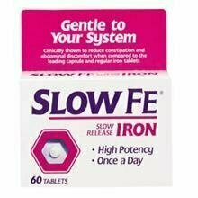 Slow Fe Slow Release Iron, Tablets, 60 each - usaotc.com
