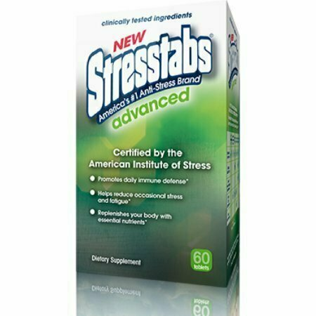 Stresstabs Advanced Tablets 60 Tablets - usaotc.com